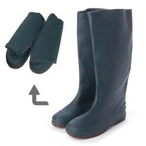 【基本送料無料】レディース メンズ パッカブル レインブーツ 携帯用巾着袋付 レディース メンズ 折りたたみ 折り畳み 長靴 旅行 アウトドア キャンプ 防災 Folding Rain Boots aw_19044【条件付サ