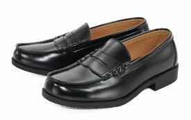 【基本送料無料】メンズ ローファー カジュアル ビジネスシューズ 革靴 高級 人工皮革 防滑 通勤 通学 学生 黒 ブラック black 24.5cm 25.0cm ke_15175【条件付サイズ交換無料】