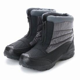 【基本送料無料】メンズ ファスナー付き 防寒 ブーツ 防滑 起毛 保温 スノーブーツ 24.5cm 25.0cm 25.5cm 26.0cm 26.5cm 27.0cm 28.0cm aw_17392【条件付サイズ交換無料】