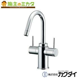 カクダイ 【150-411】 KAKUDAI 2ハンドル混合栓 混合水栓 蛇口 ★