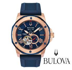ブローバ BULOVA 腕時計 メンズ 自動巻き マリンスター Marine Star 98A227 正規品 メーカー3年間保証 送料無料
