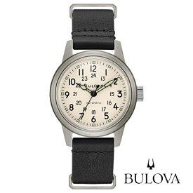ブローバ BULOVA 腕時計 自動巻き ミリタリー Military 96A246 正規品 メーカー3年間保証 送料無料