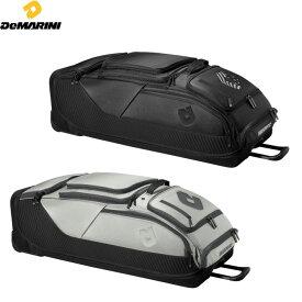 送料無料 【USA物】ディマリニ 野球 バック ローラー付きバック Special OPS Spectre Wheeled Bag 大収納 ブラック シルバー Demarini
