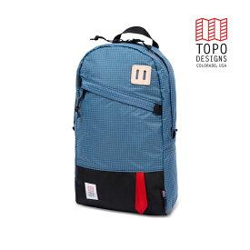 TOPO DESIGNS トポデザイン Daypack デイパック Blue/White Ripstop ブルー/ホワイトリップストップ Backpack バックパック アウトドア カジュアル パソコン収納 リュック メンズ レディース
