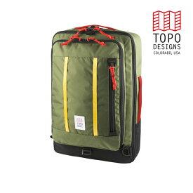 TOPO DESIGNS トポデザイン Travel Bag 30L トラベルバッグ30L Olive オリーブ バックパック アウトドア カジュアル パソコン 収納 リュック メンズ レディース 通学用 通勤用