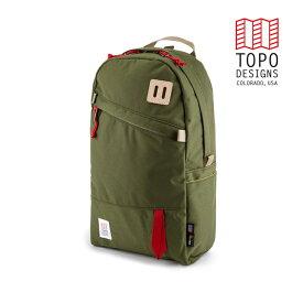 TOPO DESIGNS トポデザイン Daypack デイパック Olive オリーブ Backpack バックパック アウトドア カジュアル パソコン収納 リュック メンズ レディース