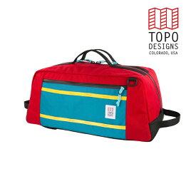 TOPO DESIGNS トポデザイン Mountain Duffel 40L マウンテンダッフル 40L Red レッドバックパック アウトドア カジュアル 3WAY 収納 リュック メンズ レディース