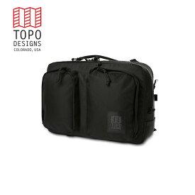 TOPO DESIGNS トポデザイン Global Briefcase グローバル ブリーフケースBallistic Black、バリスティック ブラック バックパック アウトドア カジュアル パソコン 収納 リュック メンズ レディース 通学用 通勤用