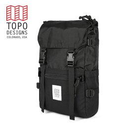 TOPO DESIGNS トポデザイン Rover Pack ローバーパック Black / Black ブラック / ブラック バックパック アウトドア カジュアル 収納 リュック メンズ レディース 通学用