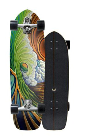 "Carverスケートボード33.75""Greenroom"