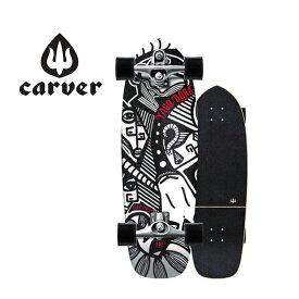 """カーバー Carver スケートボード 30.75"""" Yago Skinny Goat Surfskate Complete C7トラックコプリート サーフィン練習"""