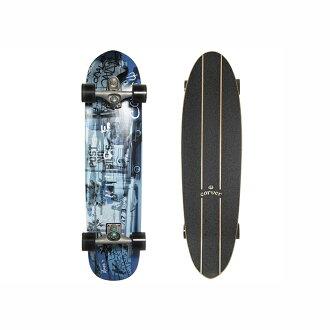 """조각가 베니스 블루 Carver 스케이트 보드 36 """"Venice Blue C7 트랙 완성 서핑 연습 10P01Oct16"""