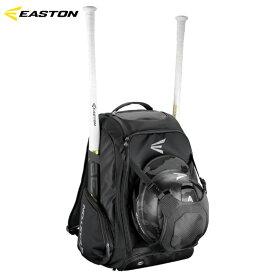 【USA物】イーストン EASTON ウィークオフVI Walk Off IV 野球 ブラック バットパック バックパック 収納豊富 バット2本差し ヘルメットホルダー