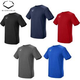 【ネコポス送料無料】【USA物】Evoshield エボシールド プロチーム トレーニング Tシャツ 野球 練習着 アパレル(WTV9701)