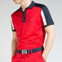 ジェイリンドバーグ J.Lindeberg ゴルフ ポロシャツJoel Fieldsensor Slim Fit Polo レッド Red スリムフィット