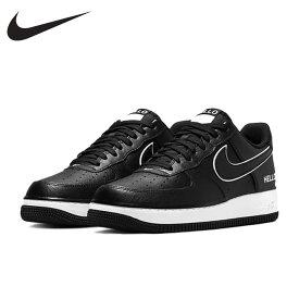 """日本未発売【送料無料】 ナイキ エアフォースワン ロー """"HELLO"""" Nike Air Force 1 '07 LX CZ0327 001 メンズ スニーカー Nike USA正規店購入 ブラック 黒"""
