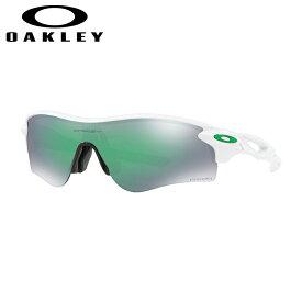 オークリー Oakley スポーツ サングラス アジアンフィット レーダーロックパス RadarLock Path ポリッシュドホワイトPolished White プリズムジェイド Prizm Jade OO9206-4338