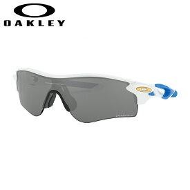 オークリー Oakley スポーツ サングラス アジアンフィット レーダーロックパス RadarLock Path ポリッシュドホワイトPolished White プリズムブラック Prizm Black OO9206-4738