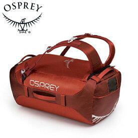 Osprey オスプレー Transporter 65 トランスポーター 65 Raffian Red レッド ダッフルバッグ ボストンバッグ トラベル ダッフル アウトドアギア 登山用 長距離 ハイキング