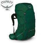 OspreyオスプレーRook65ルーク65MallardGreenグリーンリュックバックパックバッグトレッキングパックトレッキングアウトドア登山用長距離ハイキング