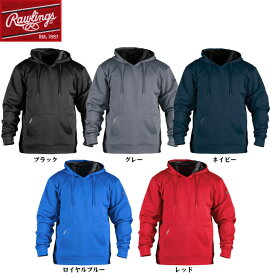 【送料無料】Rawlings ローリングス 野球 アパレル Performance Fleece Hoodie フリースパーカー 長袖 練習着 防寒着