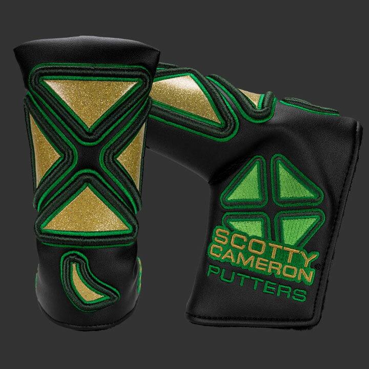 スコッティキャメロン Scotty Cameron 限定 ヘッドカバー 「2017 セントパトリックスデー」2017 St. Patrick's Day Modern Clover