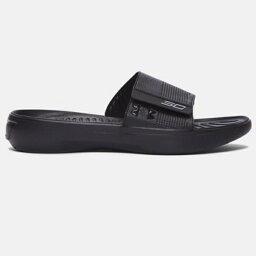 UNDER ARMOUR andaama UA Curry 3 Slides andaamakari 3涼鞋Black黑人鞋、sandarubasshubasukettoboru