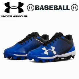 UNDER ARMOUR アンダーアーマー Men's UA Leadoff Low RM ポイント スパイク メンズ 靴 シューズ ベースボール 野球 青黒 Blue/Black