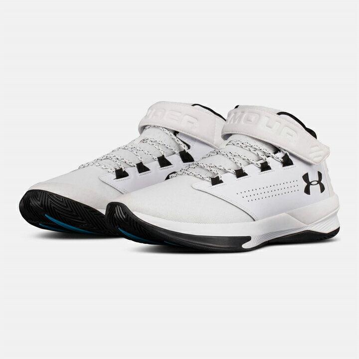UNDER ARMOUR アンダーアーマー UA GET B ZEE メンズ 靴・シューズ スニーカー バッシュ バスケットボール白黒 White/Black