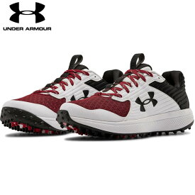 【送料無料】 UNDER ARMOUR アンダーアーマー 野球 トレーニングシューズ UA Yard Turf ヤード ターフ メンズ 靴 トレシュブラック/ホワイト/マルーン