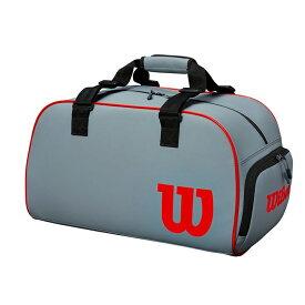送料無料 ウイルソン Wilson テニスバッグ クラッシュ ダッフル スモール CLASH DUFFLE LARGE ブラック・グレー ラケットバック テニスバッグ