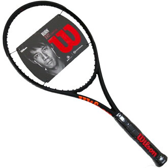 Wilson Wilson barn Burn 100S CV BLACK black edition-limited racket Tennis Racquet