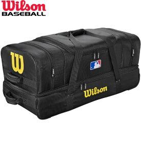 送料無料 【USA物】ウィルソン 野球 審判 ローラー付き バック Wilson Umpire Bag MLBロゴ入り 収納豊富