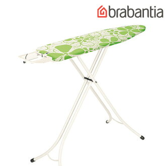 [Cover giveaway] Brabantia Ironing table Green Spring (124 x 38 cm) [41034-5], [White leg steam iron rest silicon cover] [necessities gadgets daily life gadgets washing supplies irons] [05P23Aug15]