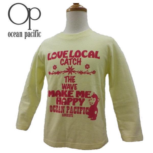 オーシャンパシフィック OCEAN PACIFIC ガールズ ロングスリーブTシャツ 589-065 スーパーSALE期間だけ半額以下 ポイント5倍