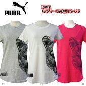 プーマPUMAレディースキャットヘッド半袖Tシャツ594508