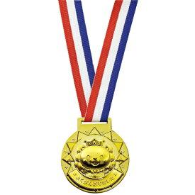 ゴールド3Dメダル ライオン [キャンセル・変更・返品不可]