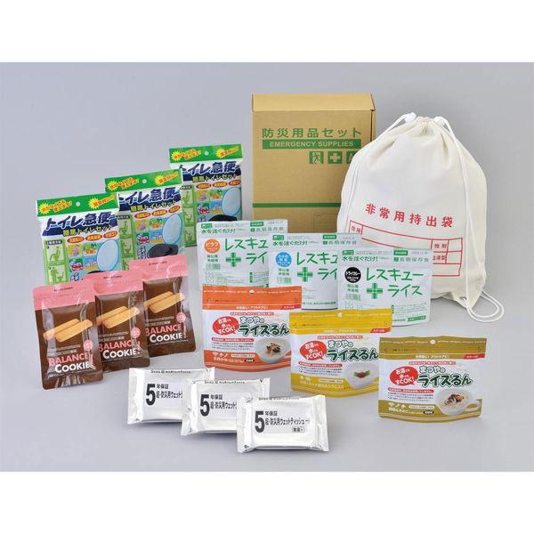 A4ボックス食料備蓄 3日間セットFLS-04 (29610) [キャンセル・変更・返品不可]