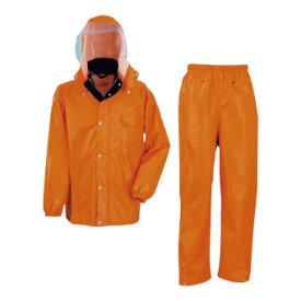 ディフェンドレインスーツ Lサイズ オレンジ(A) (3293(25)) 単品 [キャンセル・変更・返品不可]