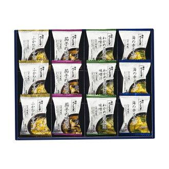 ろくさん bower Rokusaburo Michiba soup gift (L-12C) [cancellation, change, returned goods impossibility]