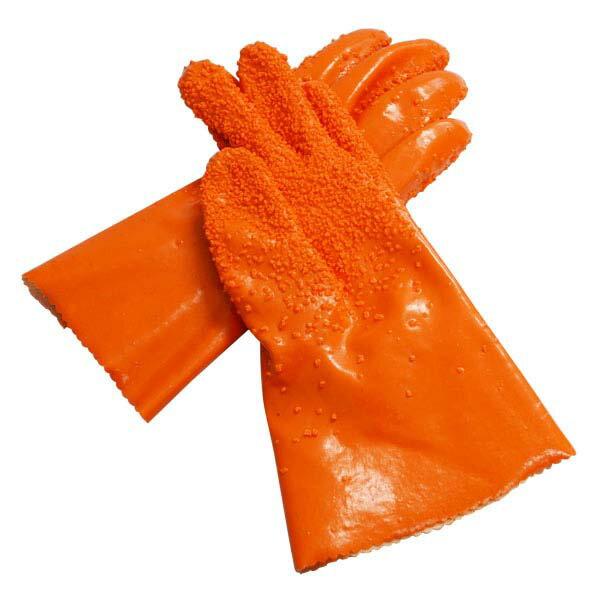 ファイン簡単皮むきグローブ ムッキー レギュラーサイズ オレンジ (FIN-239RO) [キャンセル・変更・返品不可]