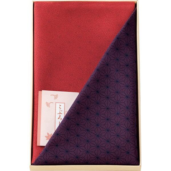 尺三巾 一越両面染小ふろしき 紫 (1462-3) [キャンセル・変更・返品不可]