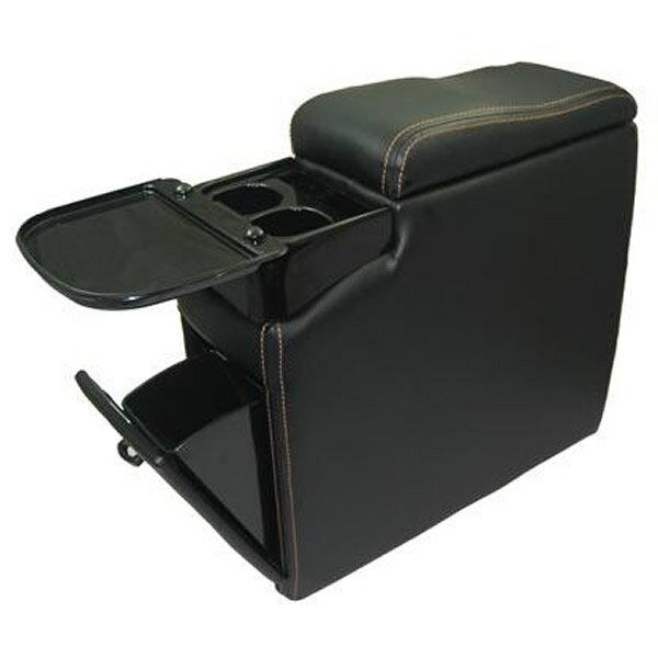シーエー産商 ダックビルコンソール サイズW-190 A-280 BK・ブラック [ラッピング不可][代引不可][同梱不可]