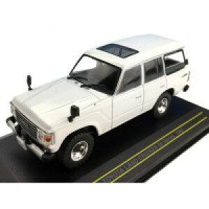 First43/ファースト43 トヨタ(TOYOTA) ランドクルーザー 60系 1982 ホワイト 1/43スケール F43071
