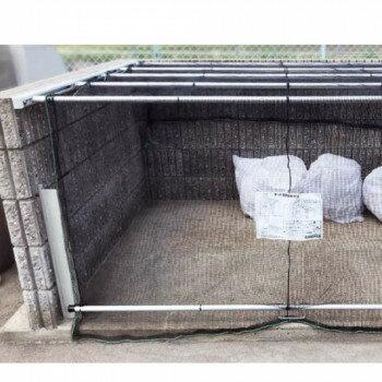 【ダイケン ゴミ収集庫 クリーンストッカー ネットタイプ CKA-2012】※発送目安:3週間 ※代引不可、同梱不可