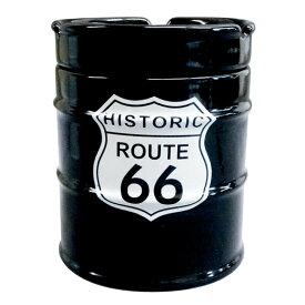 NEWドラム缶灰皿 ROUTE66 AR-1426-4