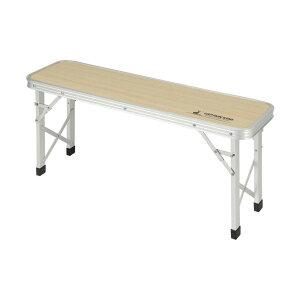 CAPTAIN STAG キャプテンスタッグ ジャストサイズ ベンチテーブル 86×24cm UC-0540 [ラッピング不可][代引不可][同梱不可]