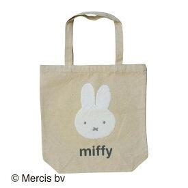 miffy ミッフィー トートバッグ カオ ナチュラル MF-2830
