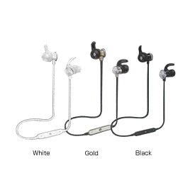 Bluetooth ワイヤレス イヤーフックイヤホン DL-1018 White