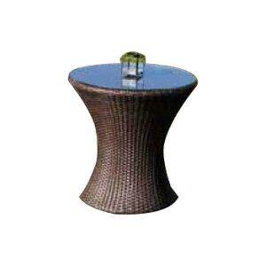ミニガラステーブル NH-30101 38721 [ラッピング不可][代引不可][同梱不可]